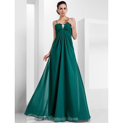 Australia Formal Evening Dress Military Ball Dress Dark Green Plus Sizes Dresses Petite A-line Princess Sweetheart Spaghetti Straps Long Floor-length Chiffon