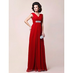 A Line Plus Sizes Dresses Petite Mother Of The Bride Dress Ruby Long Floor Length Sleeveless Chiffon