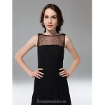 Australia Formal Dresses Cocktail Dress Party Dress Holiday Dress Black Plus Sizes Dresses Petite A-line Princess Bateau Short Knee-length Chiffon Tulle Formal Dress Australia
