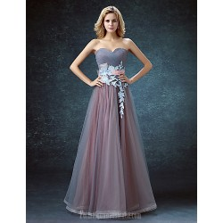 Australia Formal Dress Evening Gowns Pool Ball Gown Sweetheart Long Floor Length Lace Dress Tulle