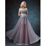 Australia Formal Dress Evening Gowns Pool Ball Gown Sweetheart Long Floor-length Lace Dress Tulle Formal Dress Australia