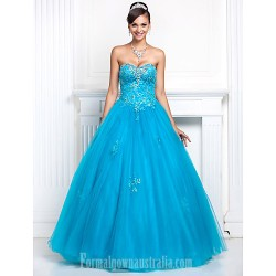 Prom Gowns Australia Formal Dress Evening Gowns Quinceanera Sweet 16 Dress Pool Plus Sizes Dresses Petite A Line Princess Sweetheart Strapless Long Floor Length