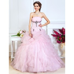 Prom Gowns Australia Formal Dress Evening Gowns Quinceanera Sweet 16 Dress Blushing Pink Plus Sizes Dresses Petite A-line Princess Ball Gown Strapless