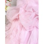 Prom Gowns Australia Formal Dress Evening Gowns Quinceanera Sweet 16 Dress Blushing Pink Plus Sizes Dresses Petite A-line Princess Ball Gown Strapless Formal Dress Australia