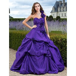Prom Gowns Australia Formal Dress Evening Gowns Quinceanera Sweet 16 Dress Regency Plus Sizes Dresses Petite Ball Gown A-line Princess Sexy One Shoulder Sweetheart