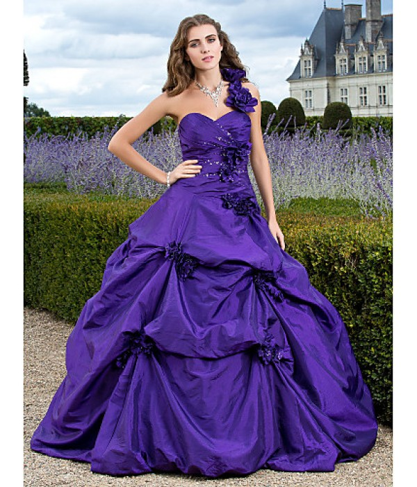 Prom Gowns Australia Formal Dress Evening Gowns Quinceanera Sweet 16 Dress Regency Plus Sizes Dresses Petite Ball Gown A-line Princess Sexy One Shoulder Sweetheart Formal Dress Australia