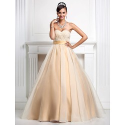 Prom Gowns Australia Formal Evening Dress Quinceanera Sweet 16 Dress Champagne Plus Sizes Dresses Petite Ball Gown Princess Sweetheart Strapless