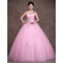Australia Formal Dress Evening Gowns Candy Pink Petite Ball Gown Sweetheart Long Floor Length Satin Tulle Stretch Satin